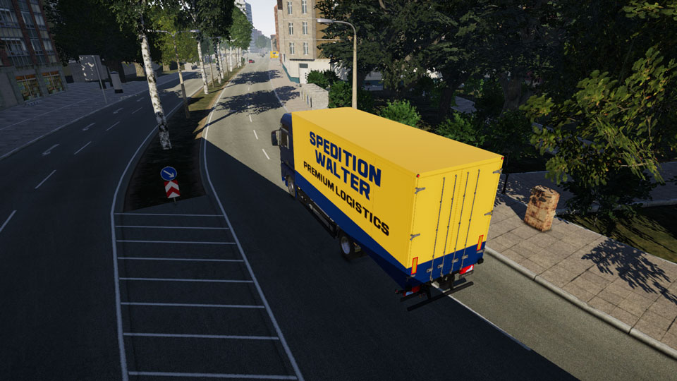 on the road truck simulator erken eri im s r m kt. Black Bedroom Furniture Sets. Home Design Ideas