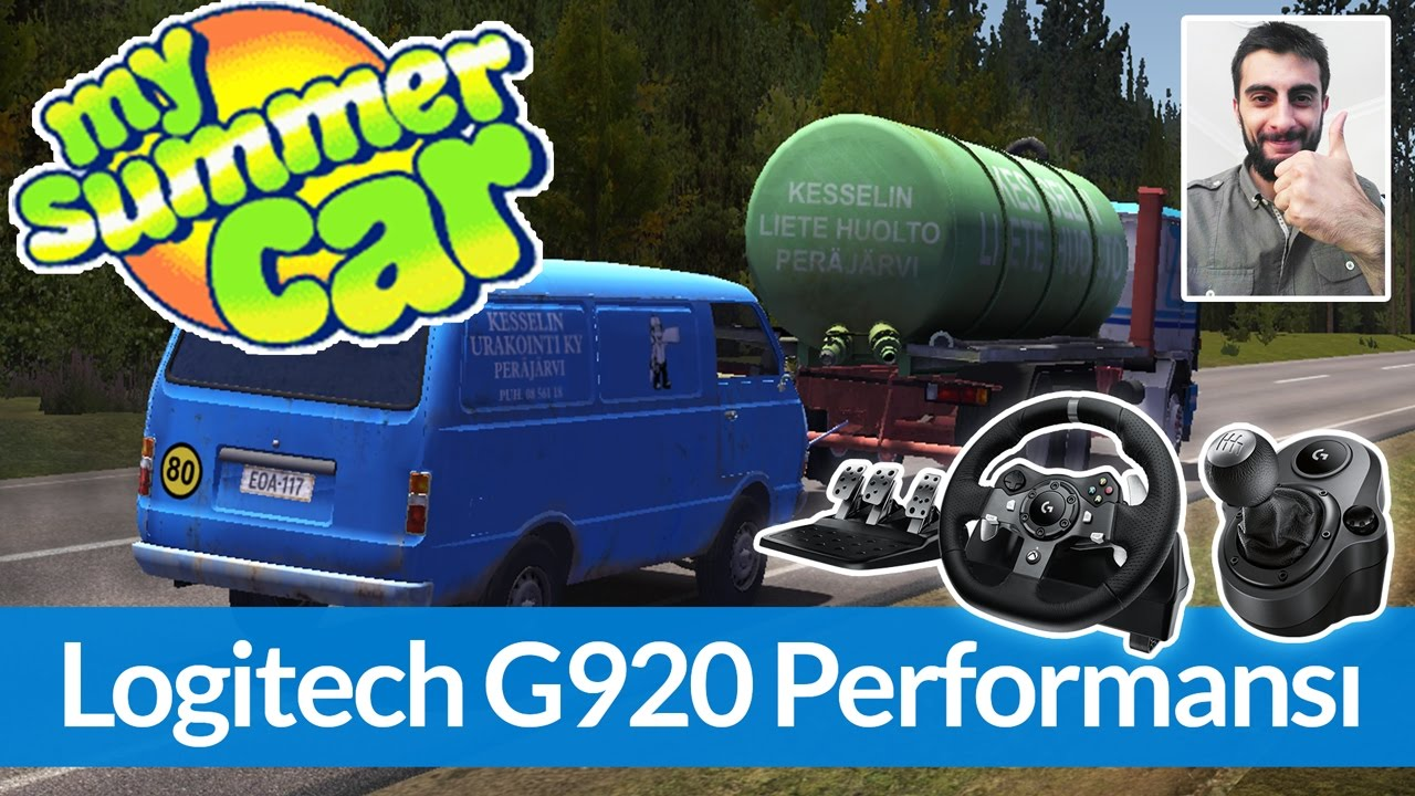 My Summer Car - Logitech G920 İncelemesi / Ayarlar