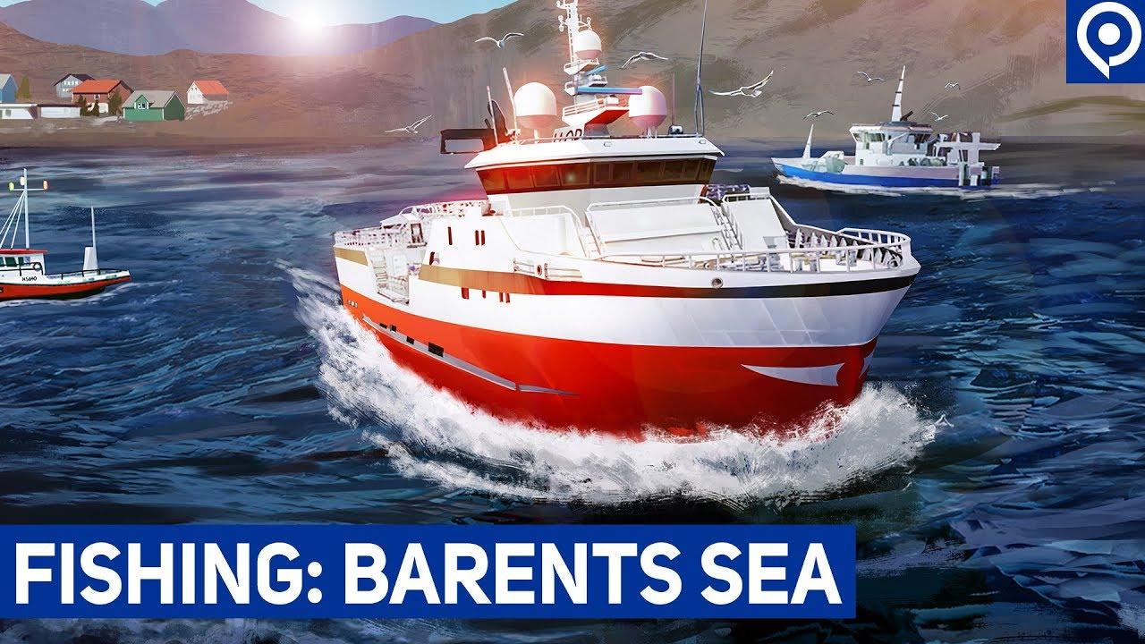 Fishing barents sea bal k l k sim lasyonu ana konu for Sea fishing games