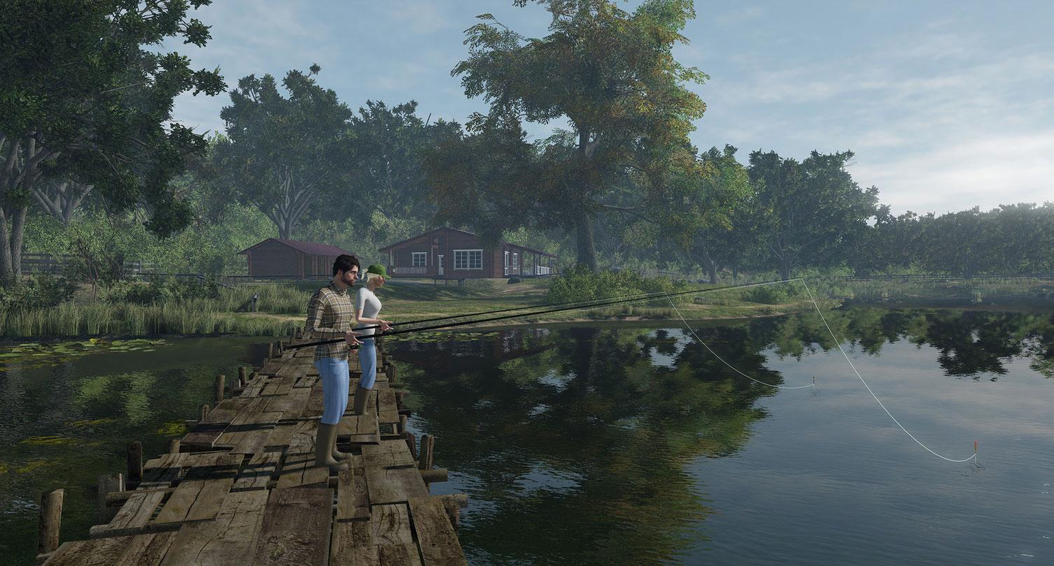 Fishing planet playstation 4 k tarihi a kland for Ps4 fishing games 2017