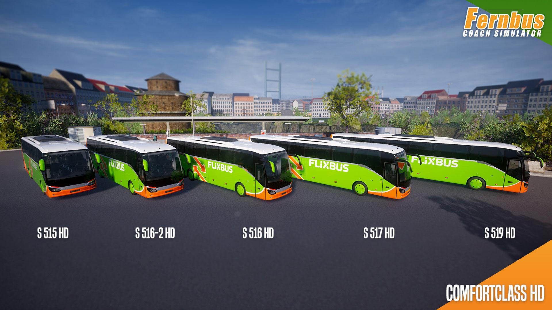 Car Simulator Games >> Fernbus Simulator'ın Setra Comfort Class HD Otobüs Paketi Çıktı!