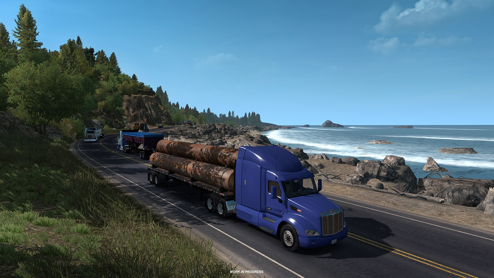 american truck simulator oregon eyaletinin manzaral us. Black Bedroom Furniture Sets. Home Design Ideas