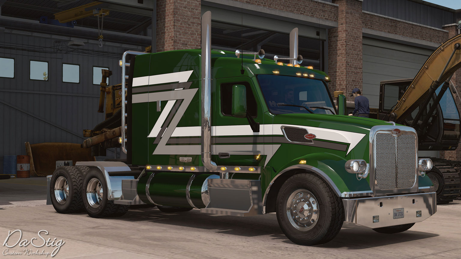 american truck simulator volvo vnl 670 aradeth. Black Bedroom Furniture Sets. Home Design Ideas
