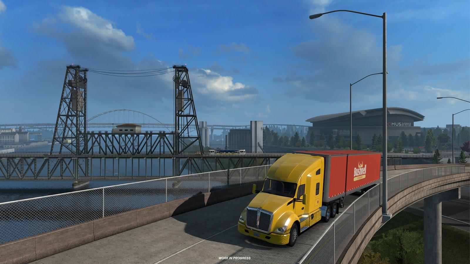american truck simulator oregon dlc 39 si lk zlenimler ve. Black Bedroom Furniture Sets. Home Design Ideas