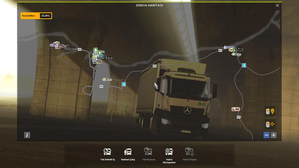ETS 2 ProMods için Ortadoğu haritası çıktı!