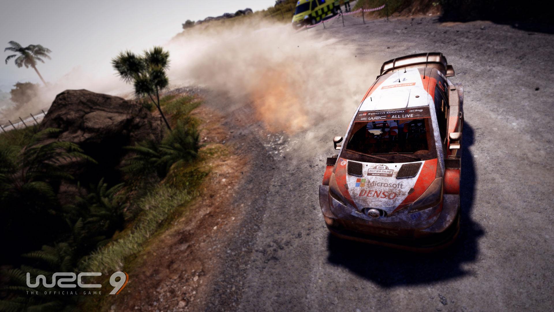 WRC 9 için ilk oynanış videosu yayınlandı! Yeni Zelanda rallisine ...